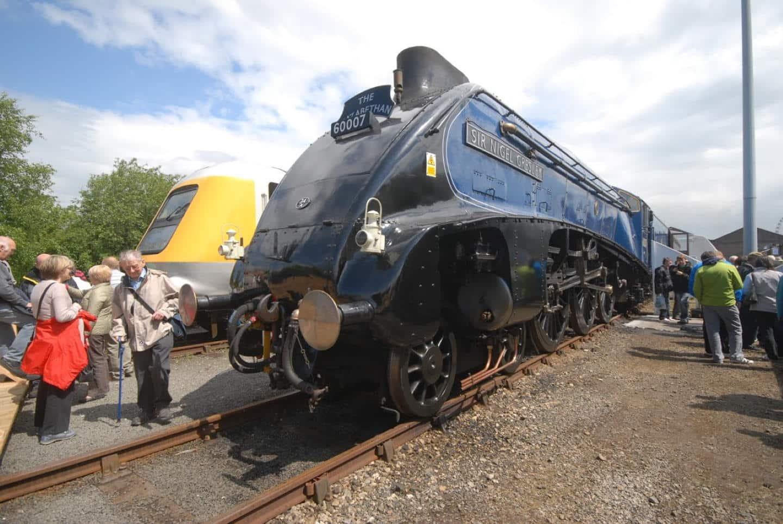 """60007 """"Sir Nigel Gresley"""" at NRM York Railfest 2012 // Credit Tim Hawkins"""