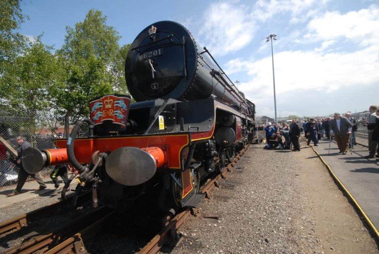"6201 ""Princess Elizabeth"" at NRM York Railfest 2012"