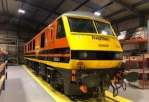 90044 in new Freightliner livery