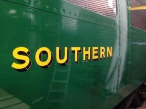 "Hand Painted ""Southern"" // Credit Canadian Pacific Project"