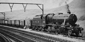 LMS 8F on the LNER numbered 3146 // Credit Unknown