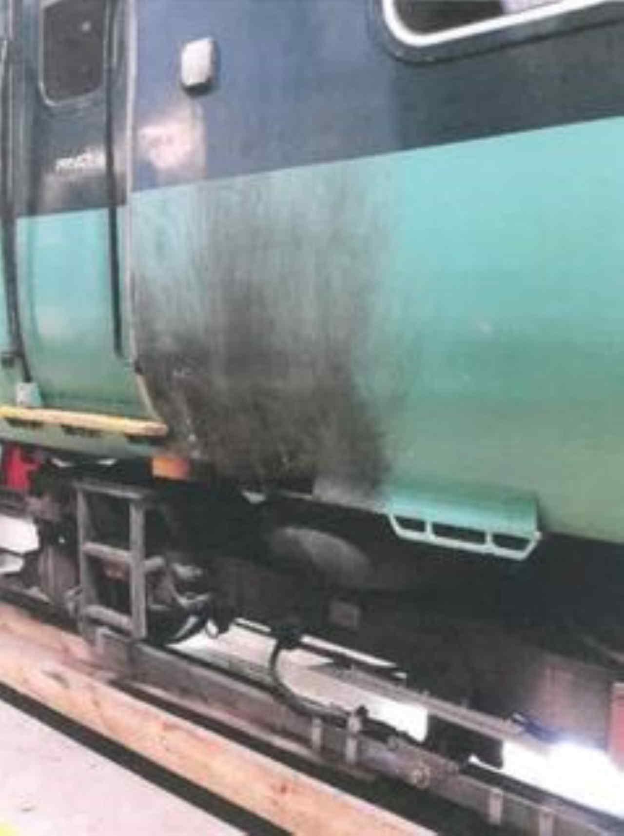 Drunk train driver incident