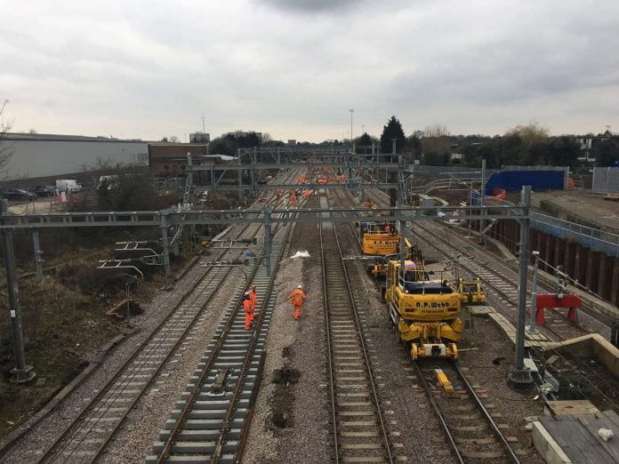[NWR] norwich to london track upgrade