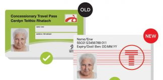 Transport for Wales bus pass