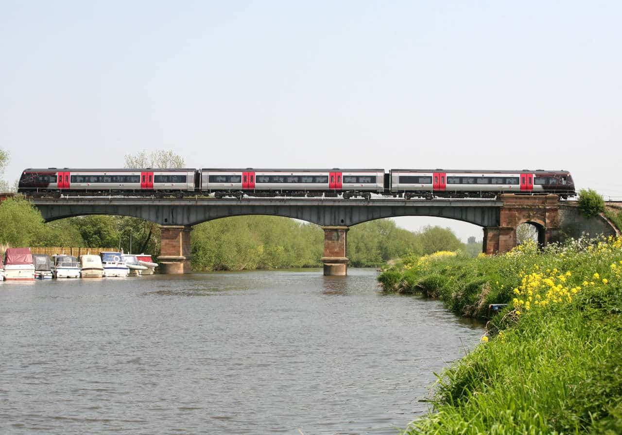 CrossCountry train at Eklington Bridge