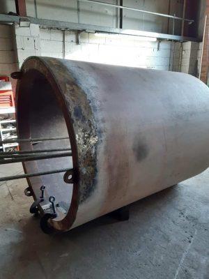 1014's Boiler Barrel's Rear Section // Credit HBSS