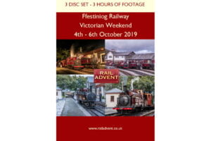 Ffestiniog Railway victorian dvd and bluray set