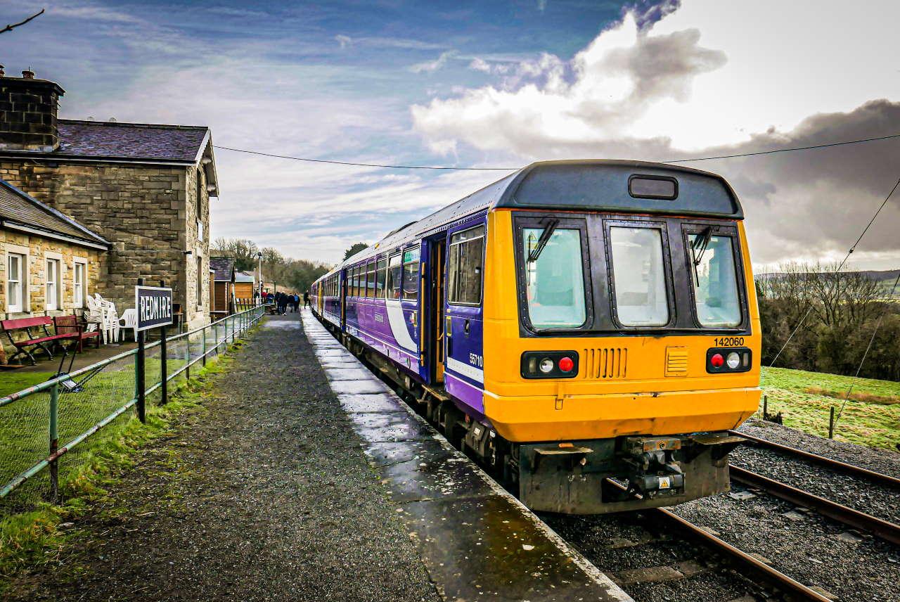 Pacers at the Wensleydale Railway