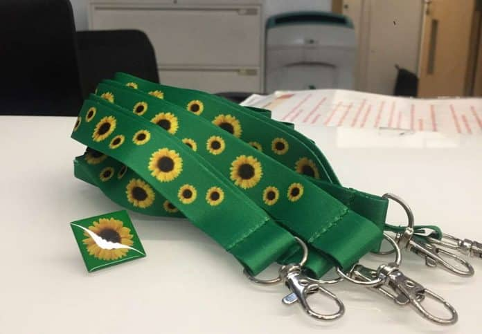Disability Sunflower Lanyard