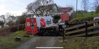 Ravenglass and Eskdale Railway accident - DPD delivery van collides with steam train in the lake district