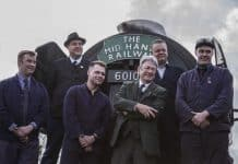 Alan Titchmarsh and the Flying Scotsman