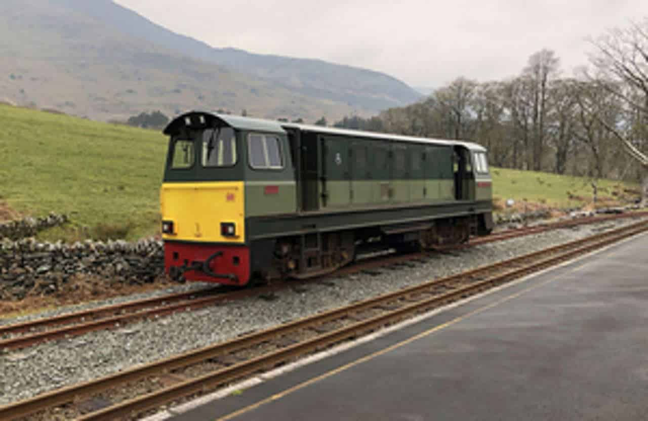 Beddgelert Runway locomotive