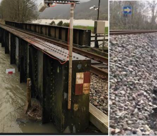 Cambrian line flooding , railways in wales