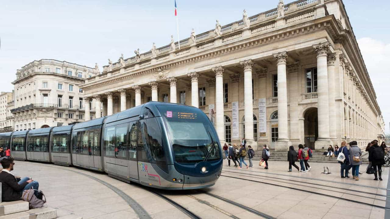130th Citadis tram in Bordeaux built by Alstom