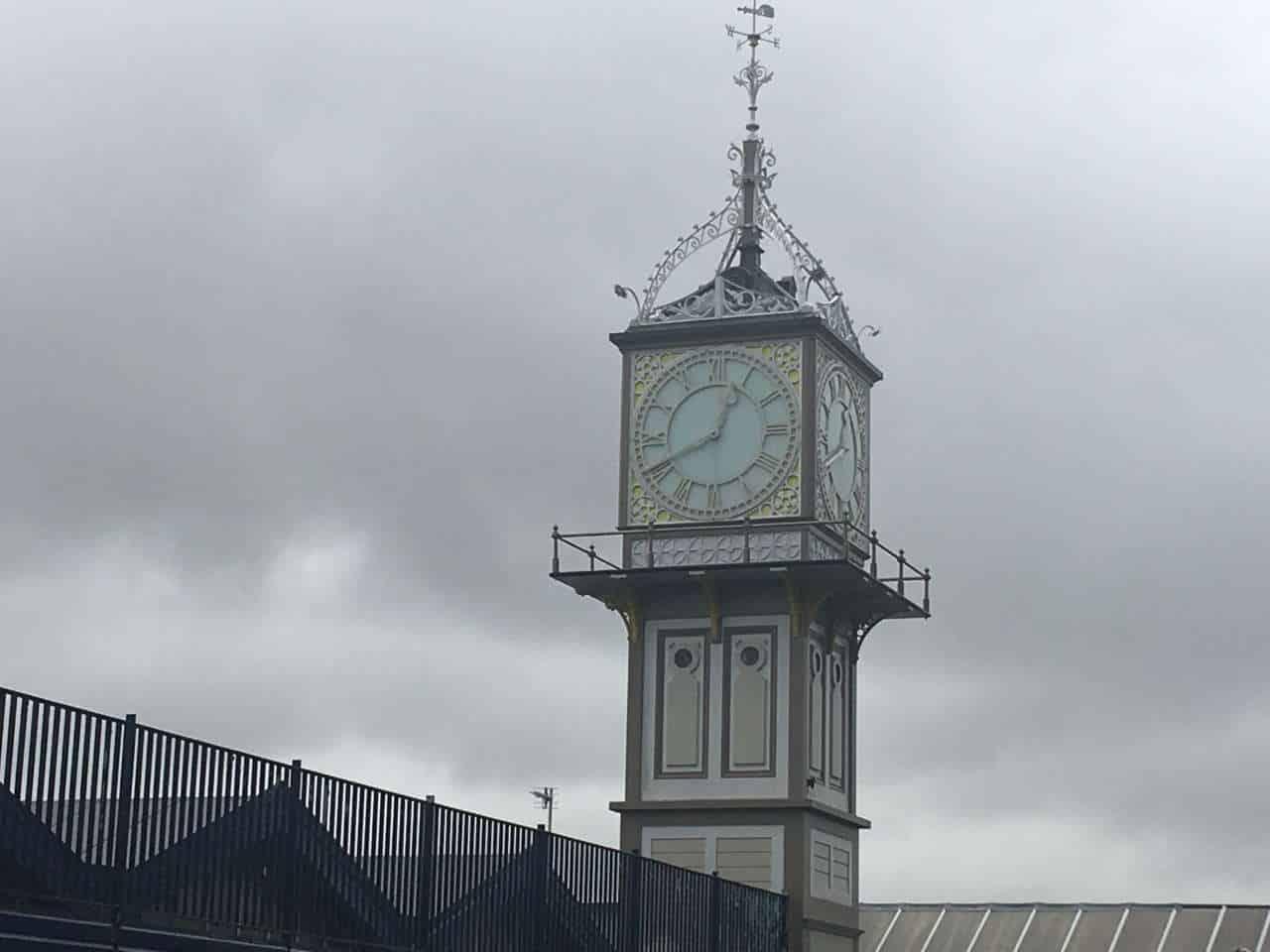 Cleethorpes clock tower is refurbished