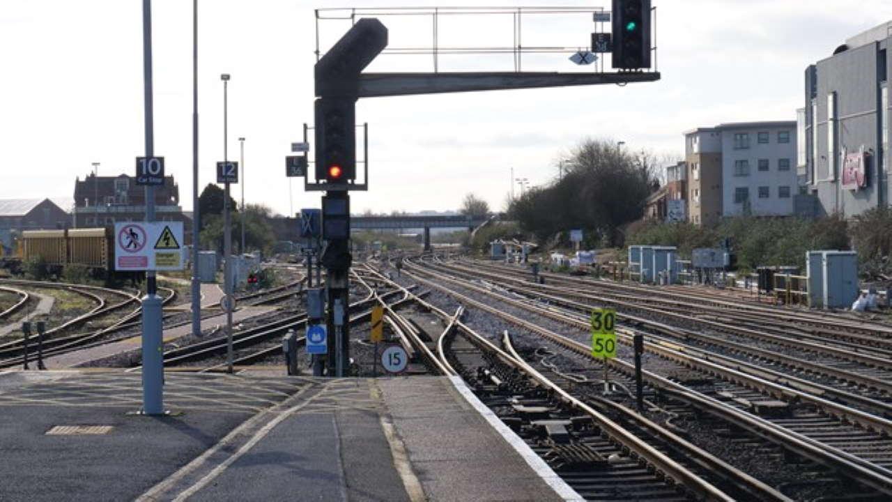 Eastleigh new track