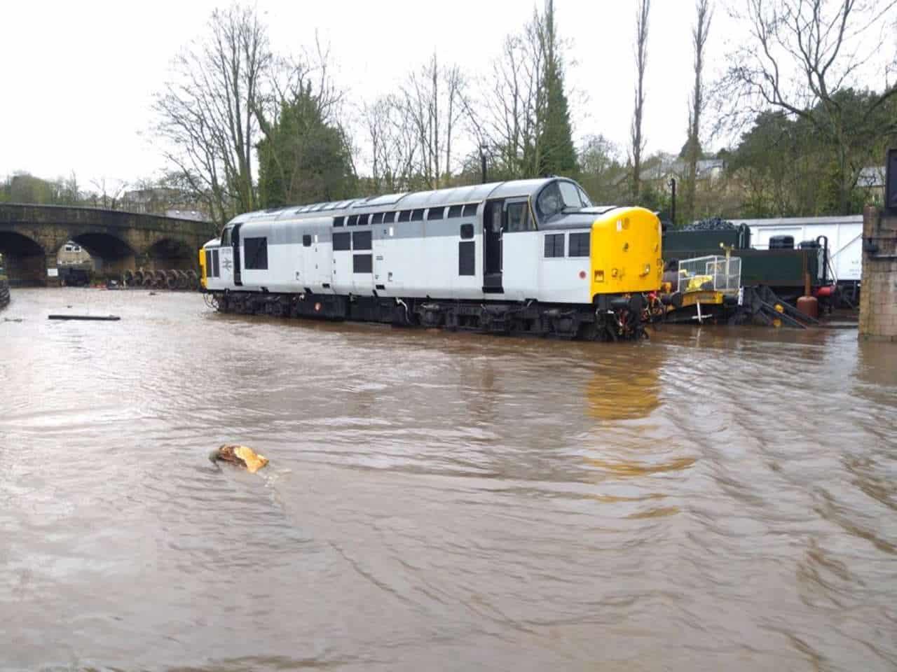 Haworth MPD flooding by Storm Ciara