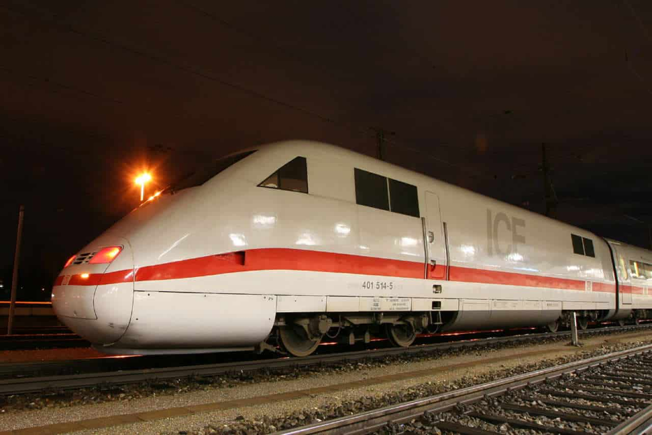 DB ICE 1 train ECTS