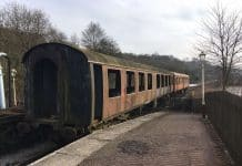 Churnet Valley BR Mk1 Carriages