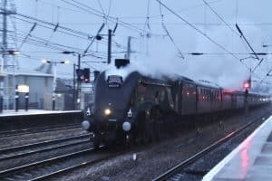 60009 Union of South Africa through Doncaster