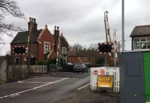Network Rail begins work to improve three level crossings in Staffordshire