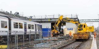 Newton Heath train depot in Manchester upgrade work nearing completion