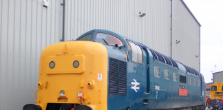 Royal Highland Fusilier at Crewe All Change