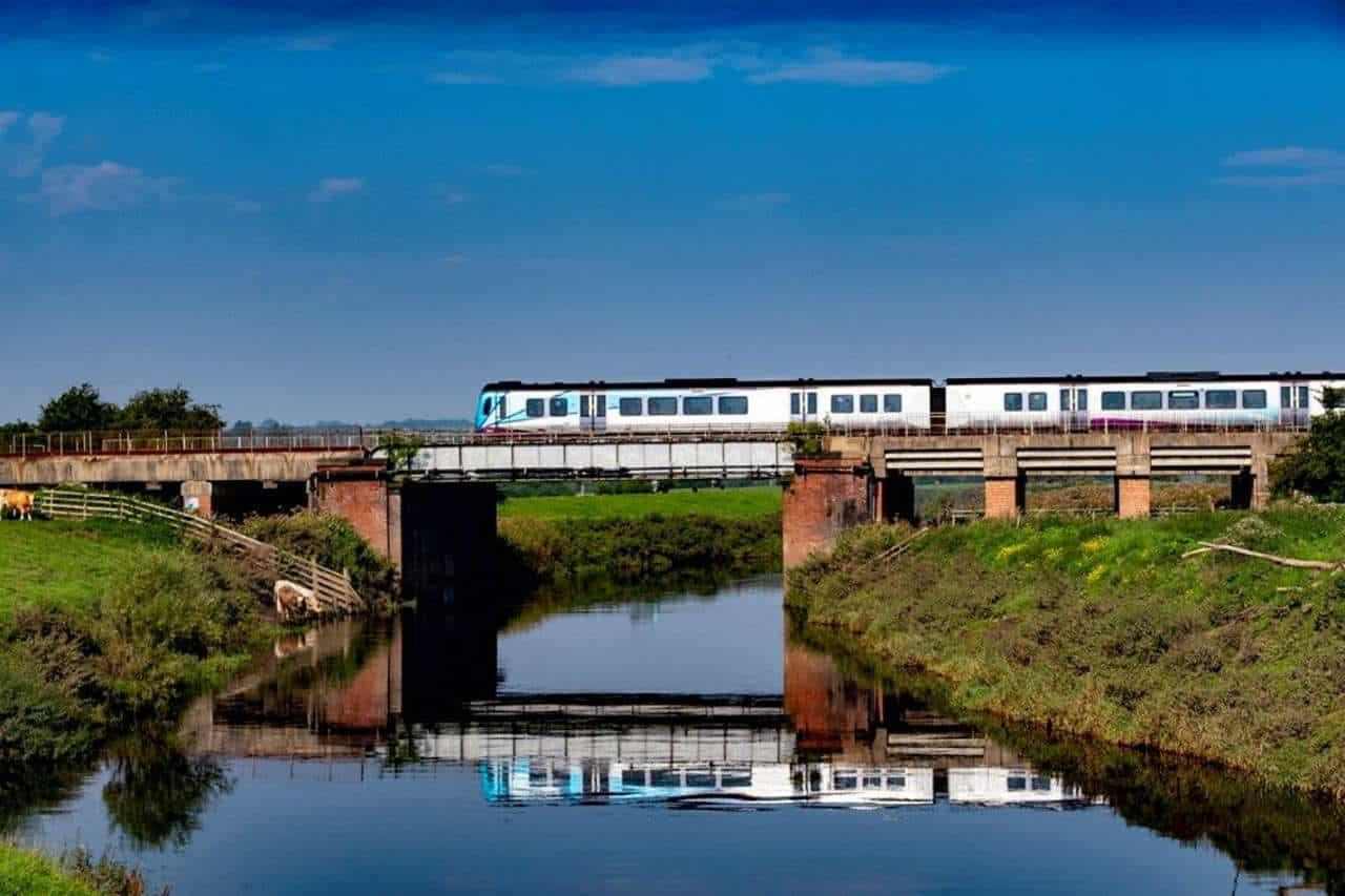 Train near Church Fenton