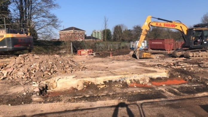 Broxbourne station car park clearance