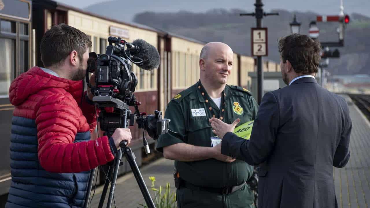 Ffestiniog Railway Defibrillators