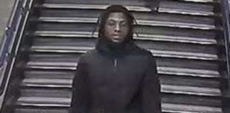 British Transport Police release CCTV image after robbery on Jubilee Line on the London Underground