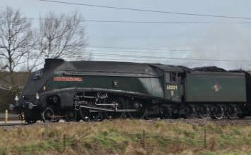 60009 Union of South Africa Cotswold Explorer