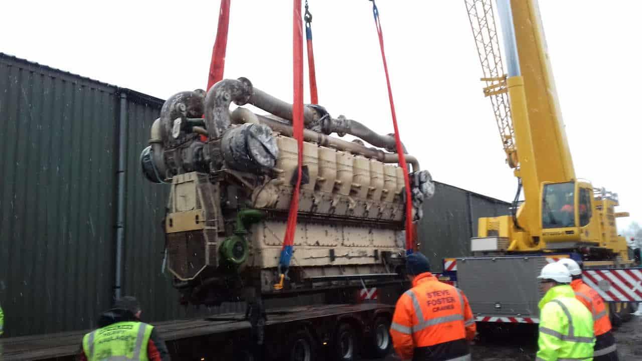 LMS 10000 power unit