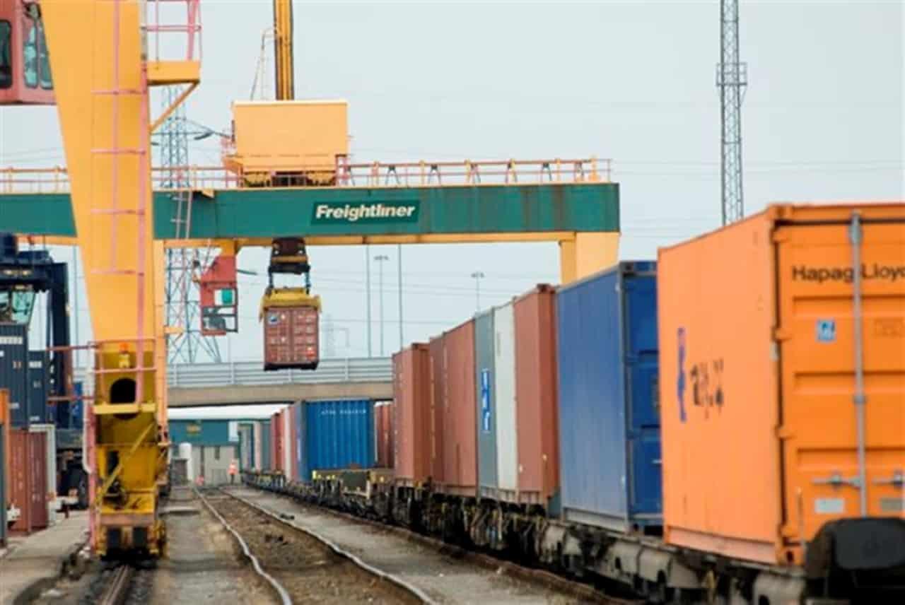 rail Freight terminal