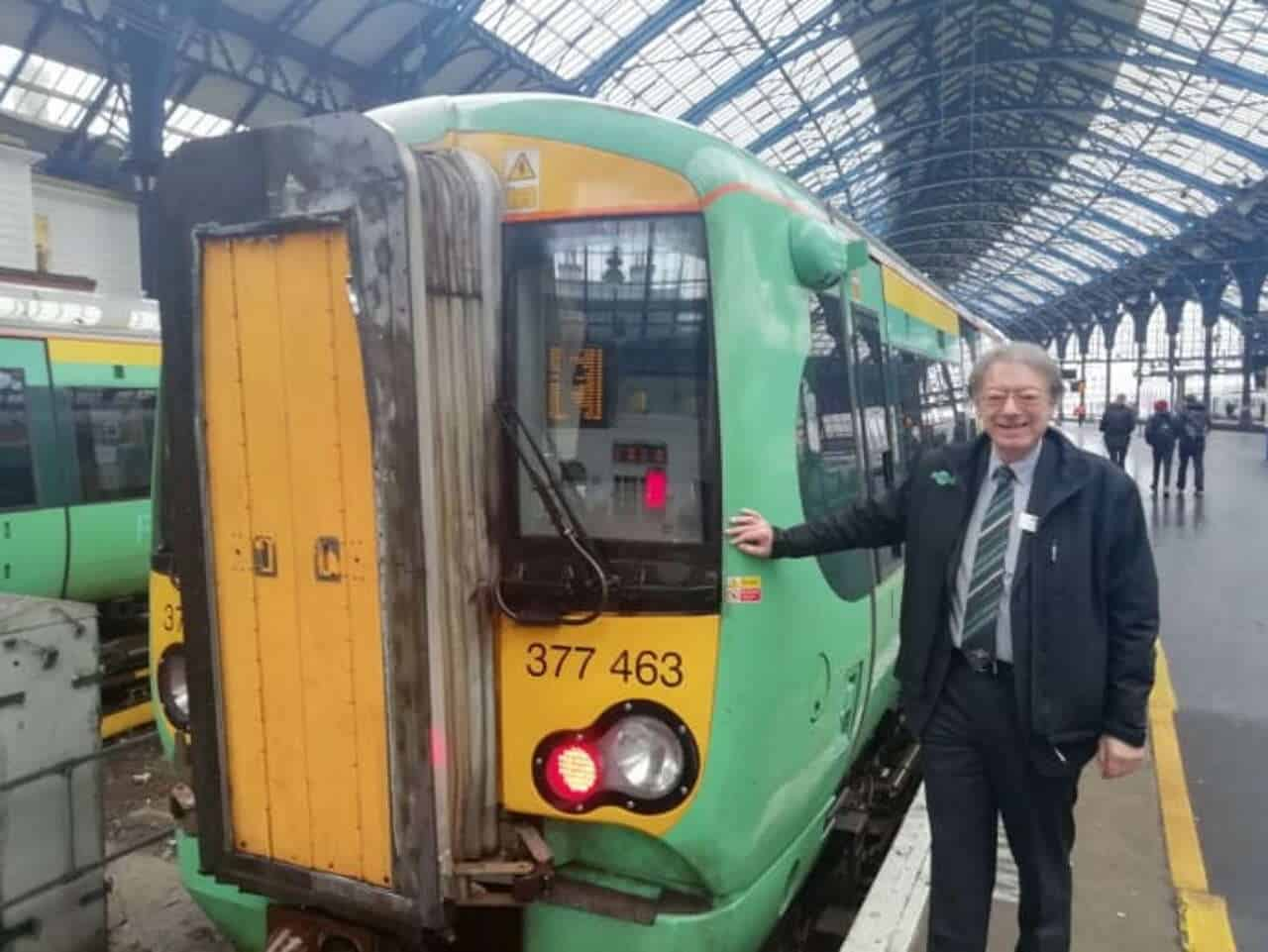 Alans farewell nearly 50 years working for the railway