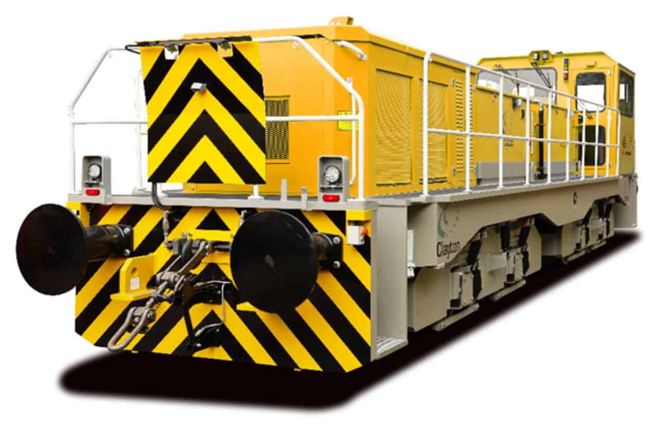 Clayton Hybrid locomotive sellafield