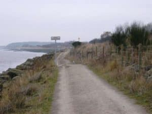 Hessle Forehore footpath