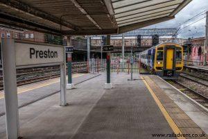 158754 arriving into Preston