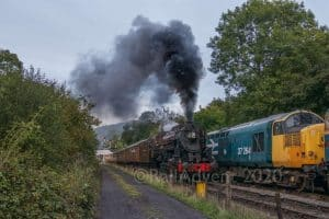S160 2253 Omaha on the North Yorkshire Moors Railway