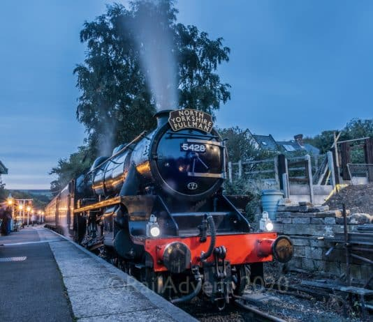 5428 Eric Treacy at Grosmont on the North Yorkshire Moors Railway