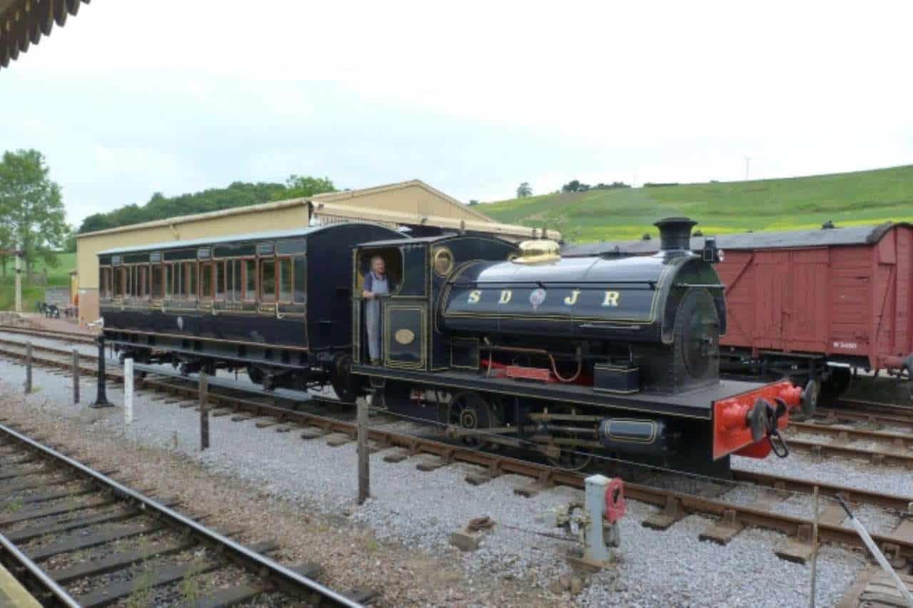 Kilmersdon at the Somerset and Dorset Railway Trust Washford site