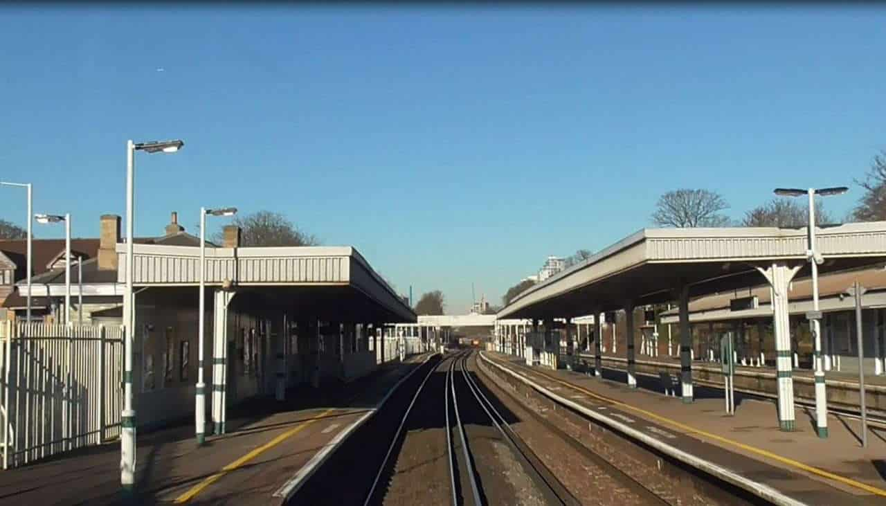 South Croydon driver eye view