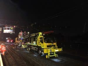 South Kenton dewirement overnight repairs London Euston