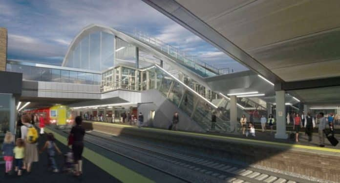 changes for rebuild at gatwick airport station