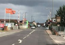 derbyshire level crossing upgrade
