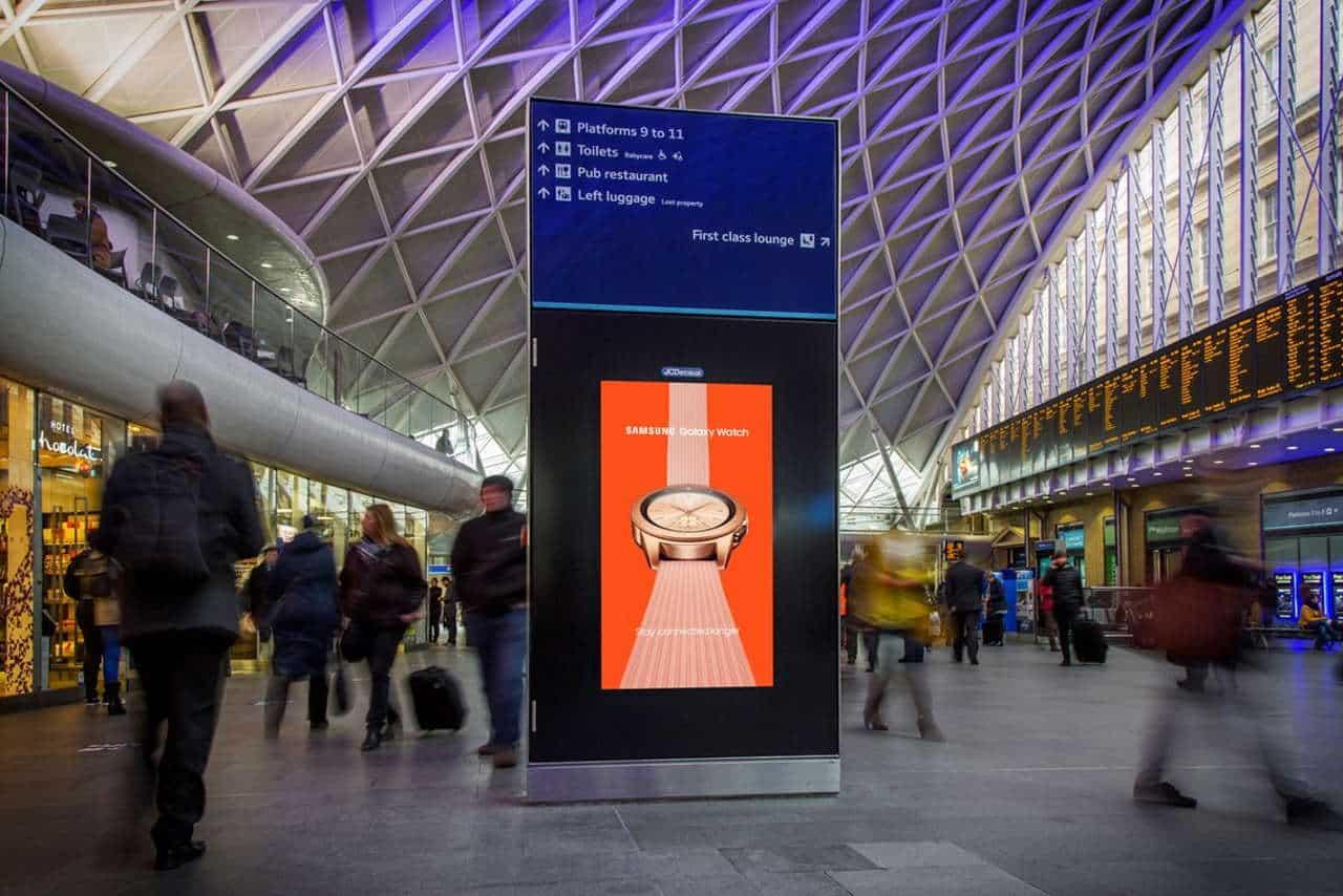 king cross - Network Rail Real Living Wage