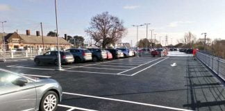 over 220 car parking spaces at manningtree rail station