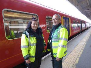 South Western Railway paramedic