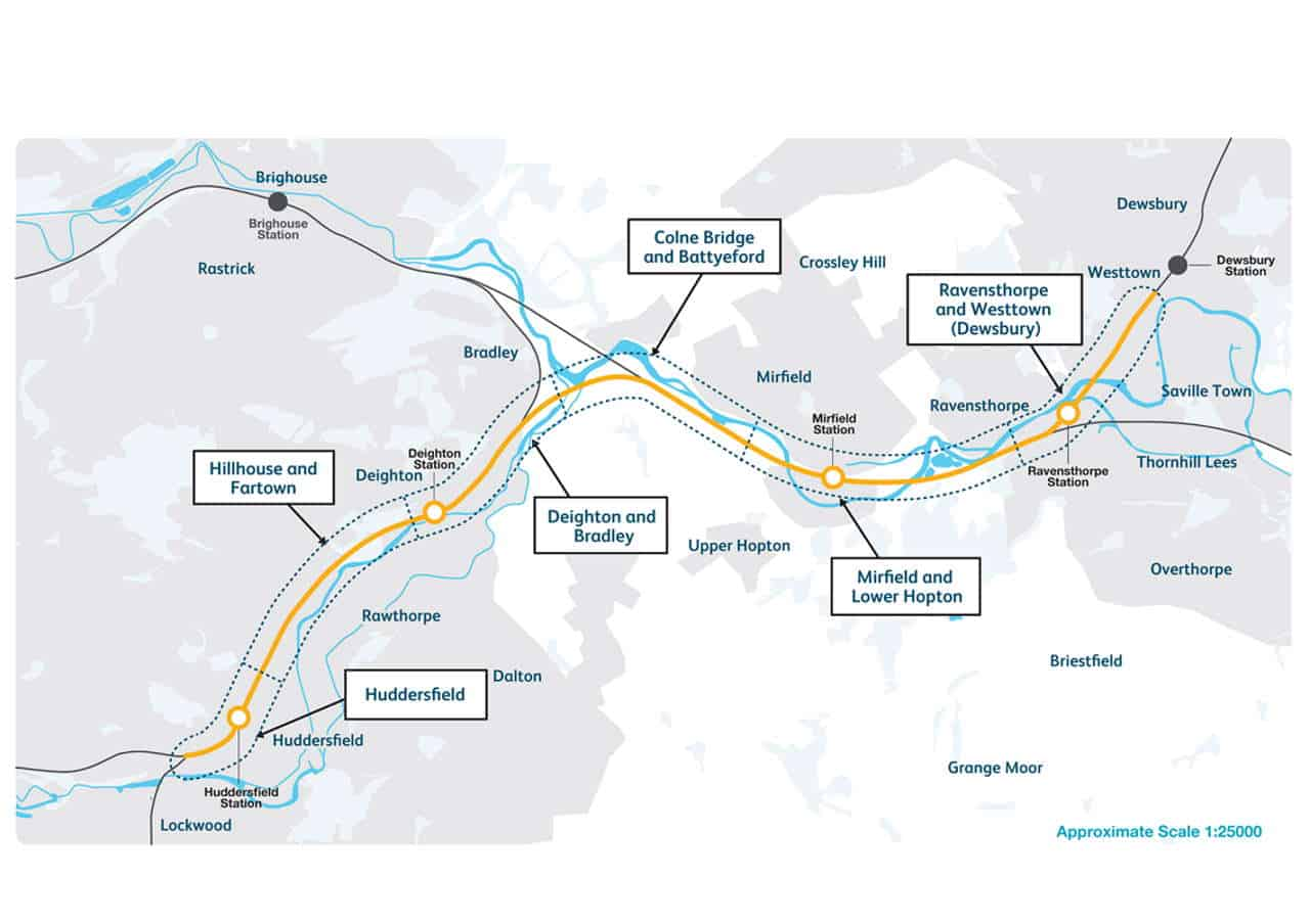 west yorkshire railway upgrade consultation transpennine