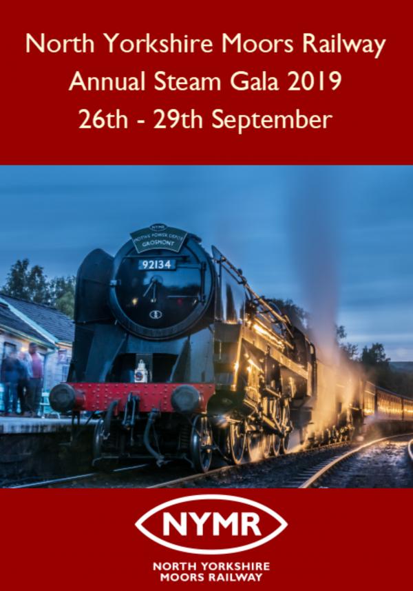 North Yorkshire Moors Railway Annual Steam Gala 2019 DVD Blu-ray